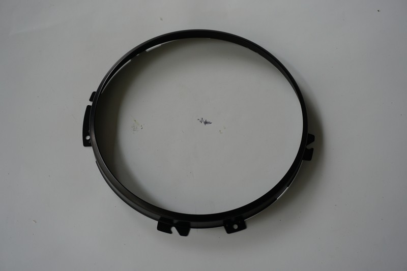 Head Light Retainer Bezel Black