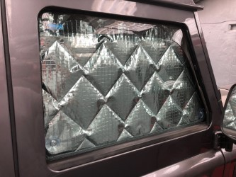 Defender 7 layer quilted blinds